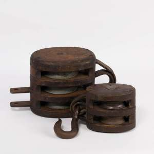 Wooden Pulleys